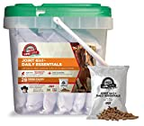 Formula 707 Joint 6in1 + Daily Essentials Combo Fresh Packs Equine Supplement, 28 Day Supply: Green-Lipped Mussel, Glucosamine, Chondroitin, Collagen, Bromelain & MSM + Complete Vitamins