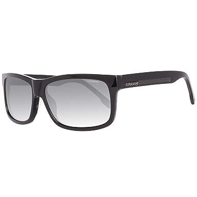 9477a763162a Polaroid Men s X8300 X 8300 A Black Polarized Rectangular Sunglasses 59mm