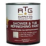 clawfoot tub refinishing RTG Shower & Tub Refinishing Paint (Cream)