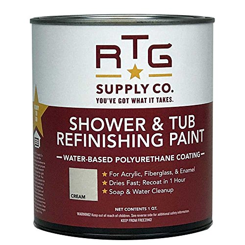 RTG Shower & Tub Refinishing Paint (Cream)