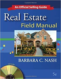 Book Real Estate Field Manual: An Official Selling Guide by Barbara Nash-Price (2008-07-08)