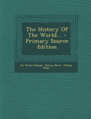 Image of The History of the World