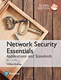 Cover of Network Security Essentials: Applications and Standards, Global Edition