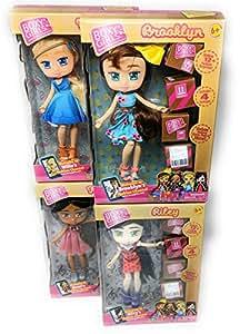 Boxy Girls 4 Pack Bundle Complete Set