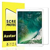 New iPad Pro 12.9 (2017) / iPad Pro 12.9 Screen Protector, Asstar 9H Hardness 2.5D Tempered Glass Bubble-Free / Anti-Scratch Screen Protector For 12.9-Inch iPad Pro (2015, 2017 Release) (1 Pack)