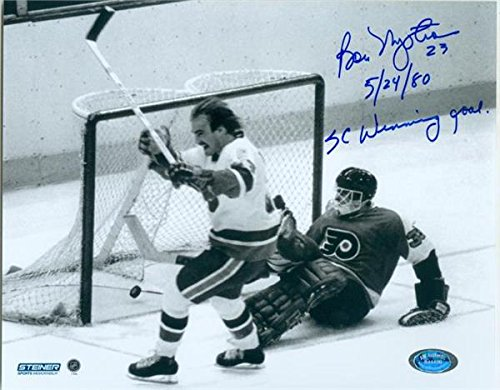 bobby-nystrom-autographed-8x10-photo-new-york-islanders-1980-stanley-cup-inscribed-5-24-80-sc-winnin