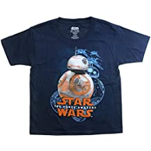 Disney Star Wars The Force Awakens BB-8 Youth Navy Blue T-Shirt