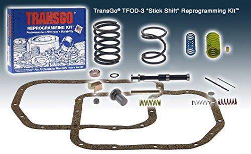 Transgo TFOD3 Reprogramming Kit, Full Manual