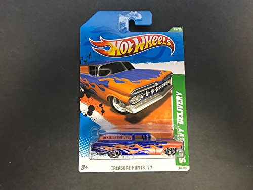 '59 CHEVY DELIVERY Hot Wheels 2011 TREASURE HUNT 15 of 15 ()