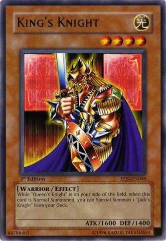 Yu-Gi-Oh! - King's Knight (EEN-EN006) - Elemental Energy - Unlimited Edition - Ultimate Rare, Single Cards - Amazon Canada