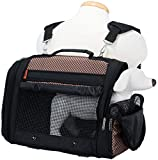 Prefer Pets Travel Gear 358BCK Hideaway Duffle Pet Carrier, Medium, Brown Review
