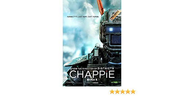 Chappie Movie Poster 24inx36in