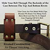 American Bench Craft Riveted Leather Sheath fits