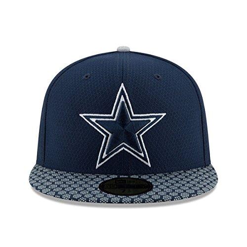 Dallas Cowboys New Era Salute To Service Official Grey 59FIFTY ... cec68b420