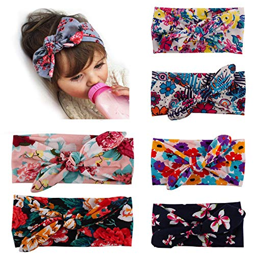 Baby Girl Headbands,Baby Headbands Turban Knotted,Hairbands for Newborn,Toddler and Children