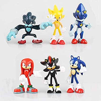 Buy Smart Buy Sonic The Hedgehog 6 Pcs  / Set Sonic The