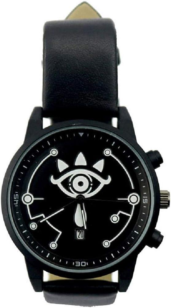 POMUTRE Mens Quartz Watch for Zelda Legend Wilderness Wrist Watches Game Around Couple Electronic Watch Black Flag Movemet