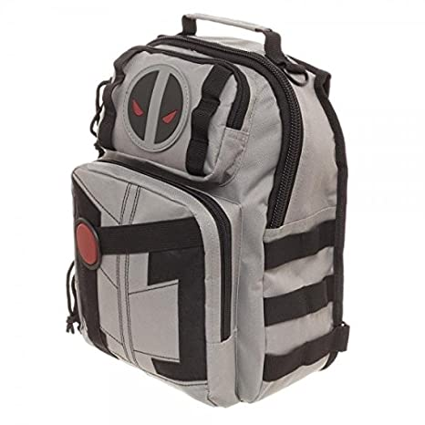 7cf8a8e834af Marvel Deadpool X-Force Mini Sling Backpack  Amazon.in  Computers    Accessories