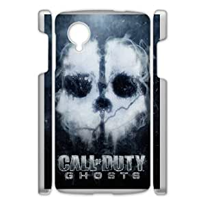 DIY Printed Call of Duty hard plastic case skin cover For Google Nexus 5 SNQ091899