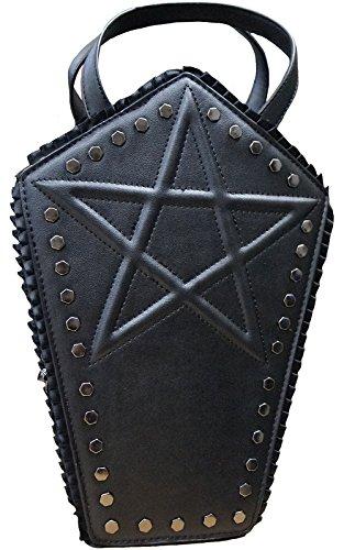 V SHOW Men's Shoulder Bag (Black) - 4