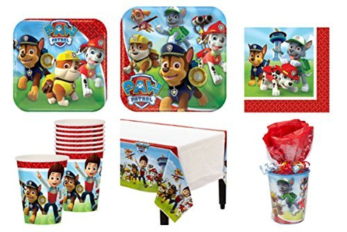 Paw Patrol Party Supplies and Party Favors for 8 Guests *Pre-Made Goodie Bags*