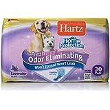 "HARTZ Home Protection Lavender Scent Odor Eliminating Gel Dog Pads, 21"" x 21"", 30 Count"