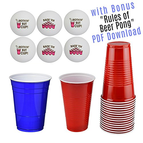 Beer Pong Sayings - Beer Pong Set - Beer Party Supplies