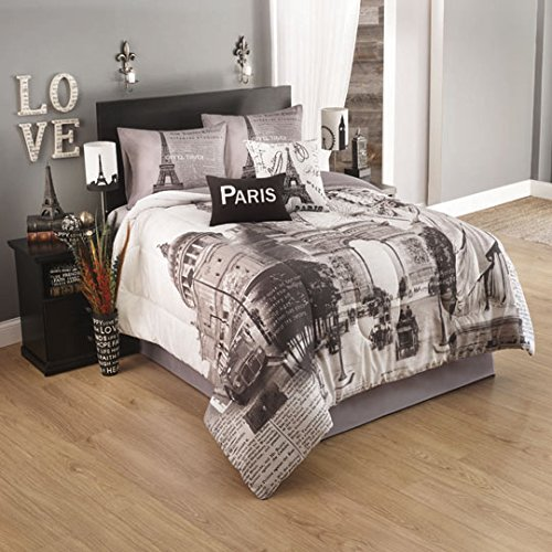 Paris Themed Bed Sheets