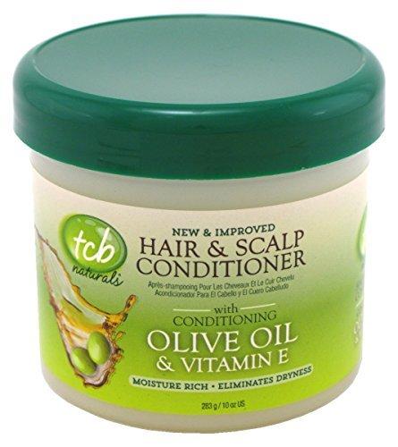 Tcb Naturals Hair & Scalp Cond Olive Oil 10oz. Jar (3 - Olive Naturals Tcb Oil