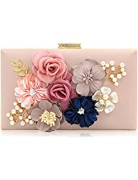 Women Flower Clutches Evening Bags Handbags Wedding Clutch Purse ea595fd9bf1c5