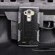 LG G4 Case, Cocomii® [HEAVY DUTY] LG G4 Robot Case **NEW** [ULTRA FUTURE ARMOR] Premium Belt Clip Holster Kickstand Bumper Case - Full-body Rugged Protective Cover for LG G4 ★★★★★ (Gray)