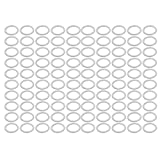 uxcell 100Pcs 27mmx35mmx2mm Aluminum Motorcycle Hardware Drain Plug Washer