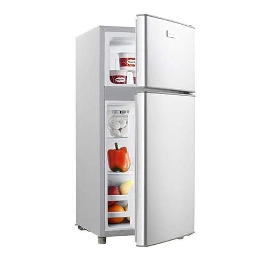 MYYQ Refrigerador doméstico de Doble Puerta 118L Recto congelado ...