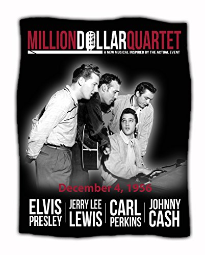 (Million Dollar Quartet Throw Blanket)