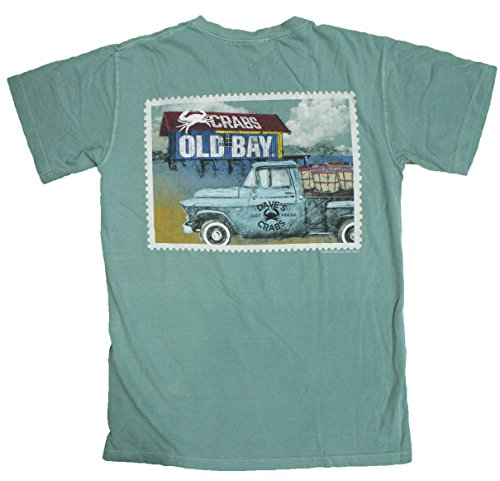 Men's Old Bay Crab Shack Officially Licensed T-Shirt (Large)