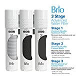 Brio 3 Stage Water Cooler Filter Replacement Kit