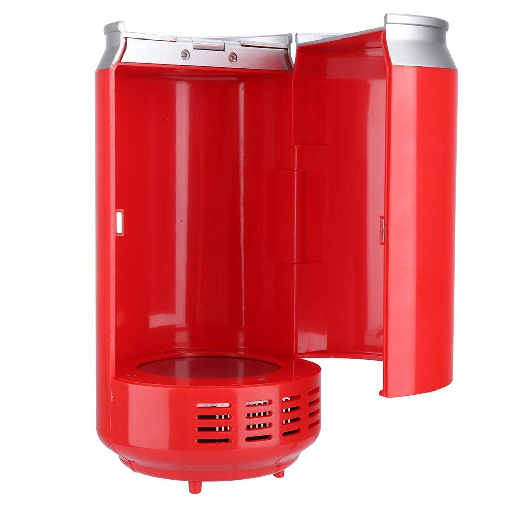 USB Fridge Hot/Cold Dual-Purpose, Portable USB Mini Fridge Handy Mini USB Fridge Cooler Car Freezer Refrigerator Keep Cool & Warm for Car Office Home by Pomya