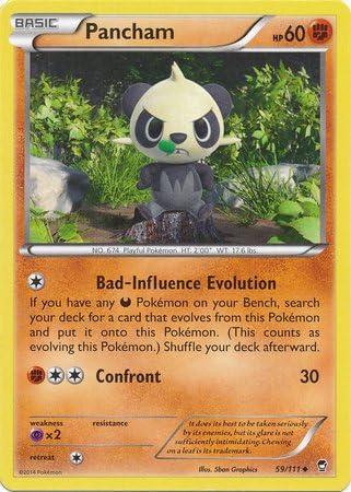 Furious Fists 60//111 Pancham Reverse Holo Pokemon Card