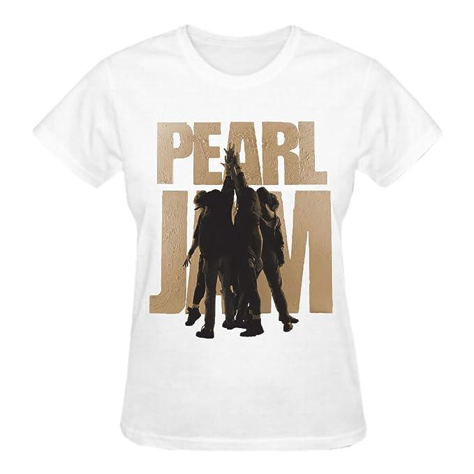 Cuello Fightor Mujer De Funny Diez Camisetas Para Redondo Jam Pearl VUMpzS