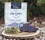 Sweet & Spicy Lamb Charki. An All Natural, Gluten Free, Grass Fed Premium Jerky.