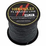100m 109yds Gray 10lbs-300lbs Hercules Pe Dyneema braid Fishing Line Spectra 8 Strands