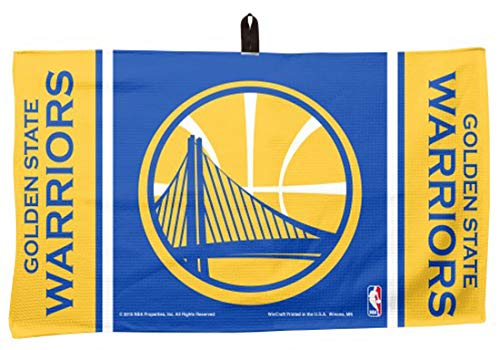 WinCraft Golden State Warriors NBA Waffle Golf Towel by WinCraft