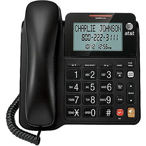 Black Big Button Home Desk Phones Button Desk Phone