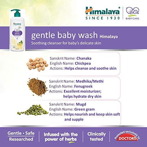 Himalaya Gentle Baby Wash (400ml)