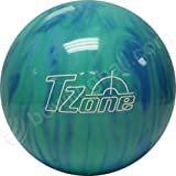 Brunswick TZone Caribbean Blue Bowling Ball (11-Pounds)