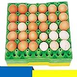 BESTONZON Egg Trays, 2pcs Chicken Egg Cartons