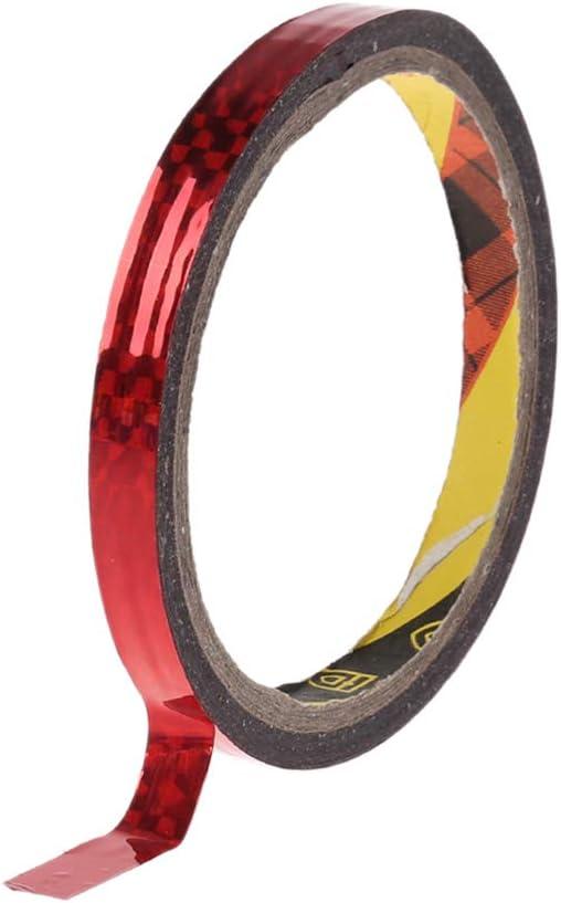 JERKKY Rhythmische Gymnastik Dekoration Holographic Prismatic Glitter Tape Hoops Stick Sport Zubeh/ör Blau 10mmx30m