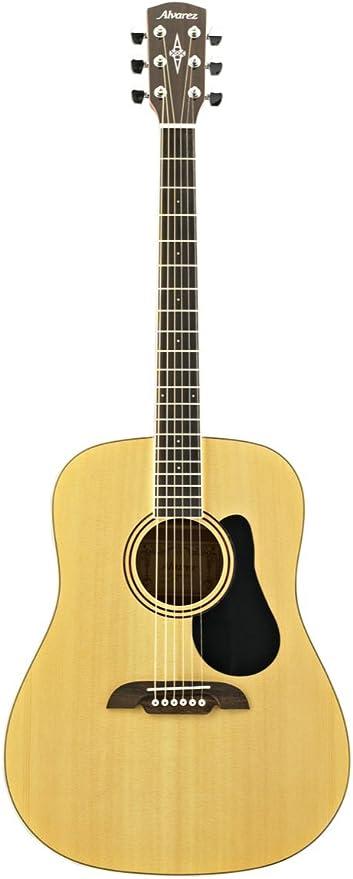 Álvarez - Guitarra acústica RD26NAT (Cutaway) con funda incluida ...
