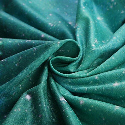 Thenice - Sudadera - para mujer Green star