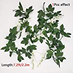 Musdoney-4-PCS288-Ft-Artificial-Flower-Vine-Silk-Wisteria-Garland-Hanging-Rattan-with-Ivy-Leaf-for-Wedding-Home-Decor-White